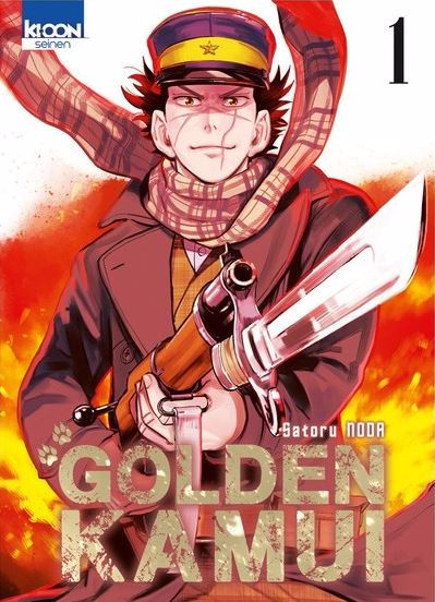 Couverture de Golden Kamui -1- Tome 1