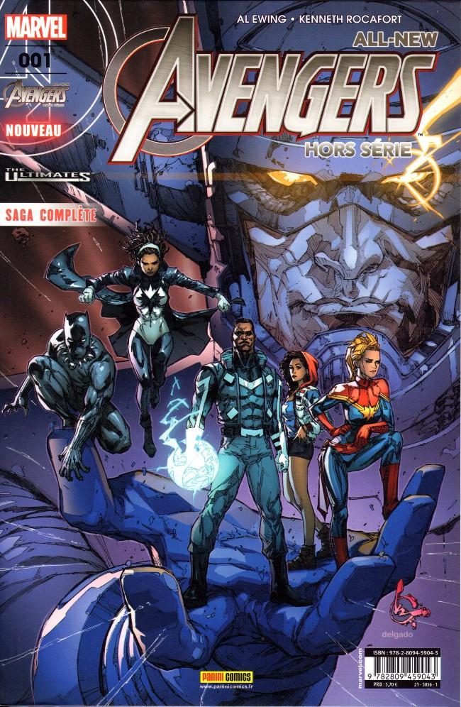 Couverture de All-New Avengers -HS01- À la frontière de l'impossible