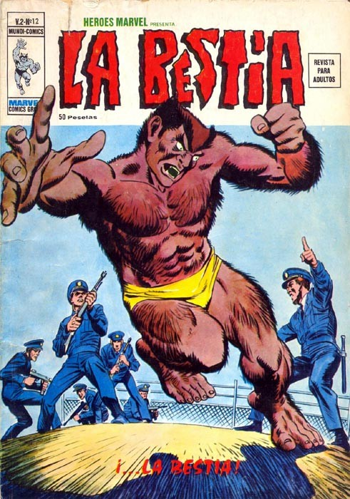 Couverture de Héroes Marvel (Vol.2) -12- La Bestia
