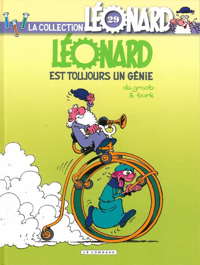 Couverture de Léonard - La Collection (Prisma Media) -292- Léonard est toujours un génie