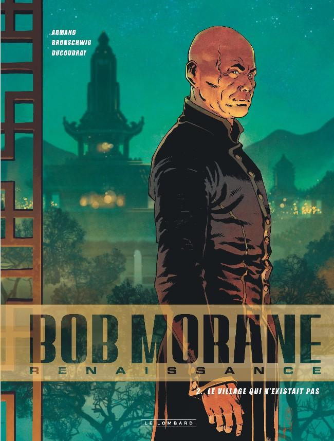 Couverture de Bob Morane - Renaissance -2- Le village qui n'existait pas