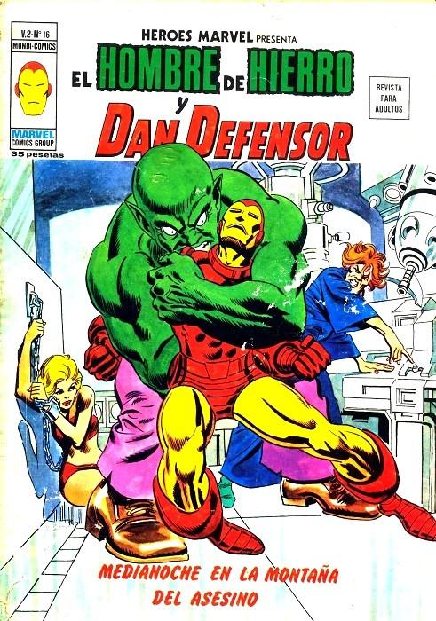 Couverture de Héroes Marvel (Vol.2) -16- Medianoche en la montaña del asesino