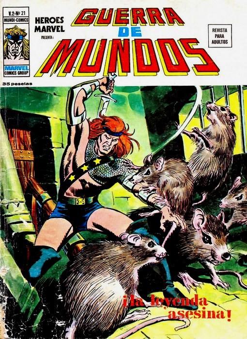 Couverture de Héroes Marvel (Vol.2) -21- La guerra de los mundos: ¡Pesadilla en Washington!