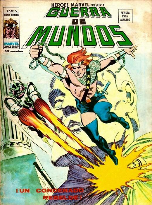 Couverture de Héroes Marvel (Vol.2) -22- iUn condenado rebelde!