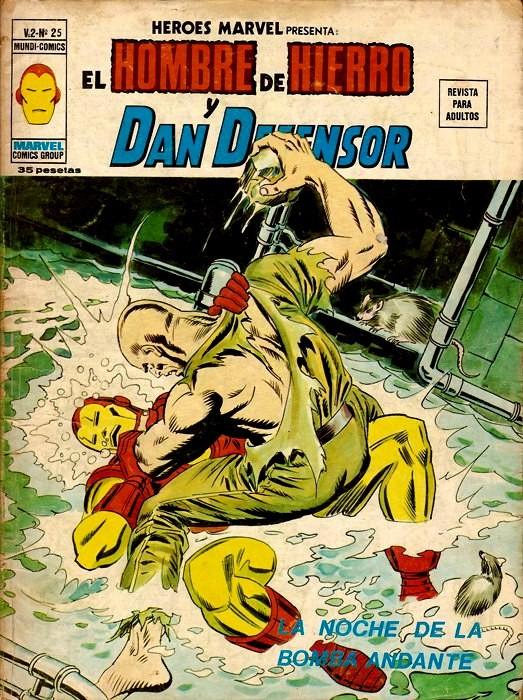 Couverture de Héroes Marvel (Vol.2) -25- La noche de la bomba andante