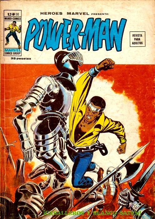 Couverture de Héroes Marvel (Vol.2) -30- iCaballeros y blanco satén!