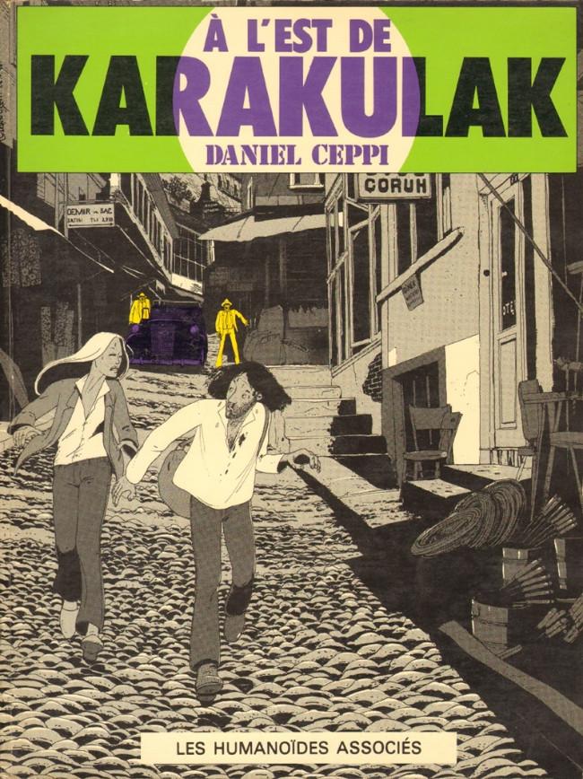 Couverture de Stéphane Clément -2- À l'est de Karakulak