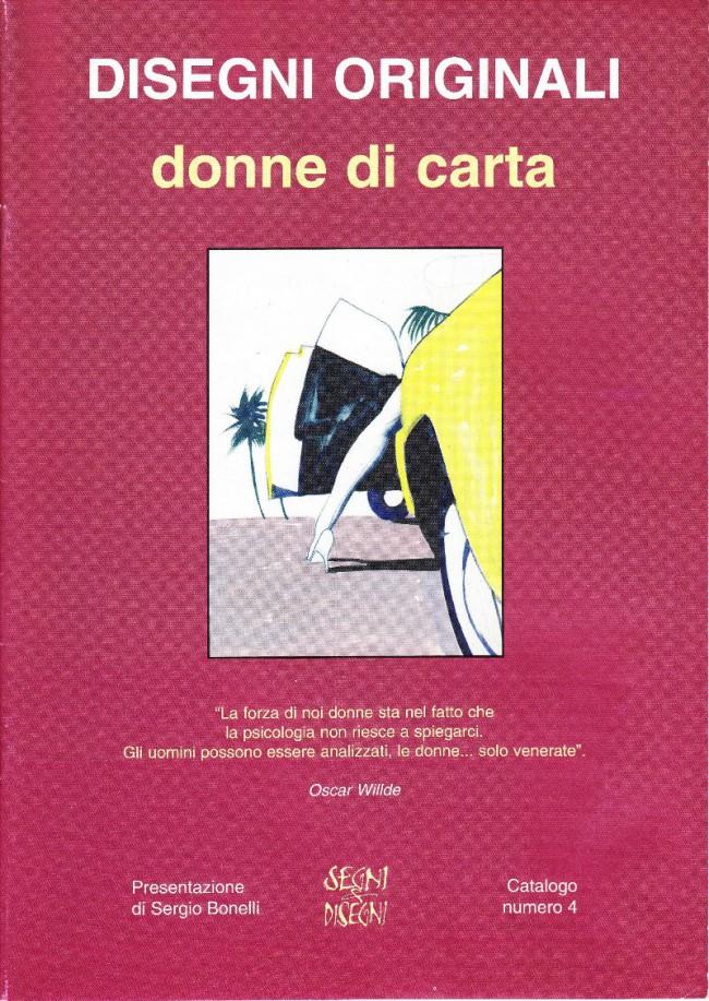Couverture de (Catalogues) Ventes aux enchères - Divers -4- Disegni Originali donne di carta