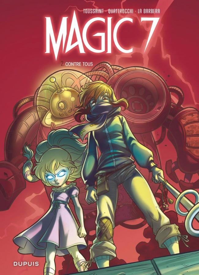 Couverture de Magic 7 -2- Contre tous