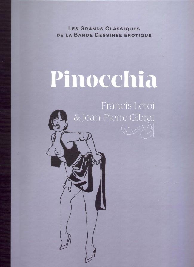 Couverture de Les grands Classiques de la Bande Dessinée érotique - La Collection -1224- Pinocchia