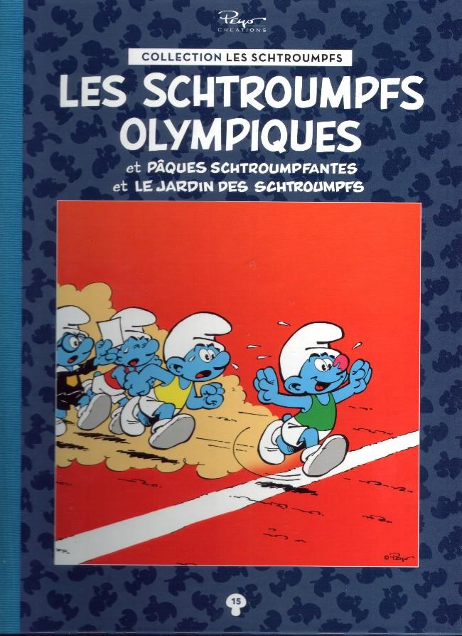 Couverture de Les schtroumpfs - La collection (Hachette) -15- Les schtroumpfs olympiques