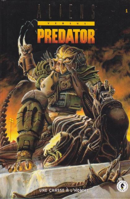 Couverture de Aliens versus Predator -1- Une chasse à l'homme (1)