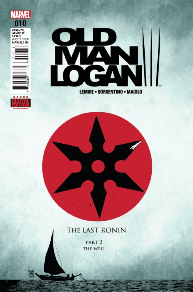 Couverture de Old Man Logan (2016) -10- The Last Ronin Part 2 : The Well