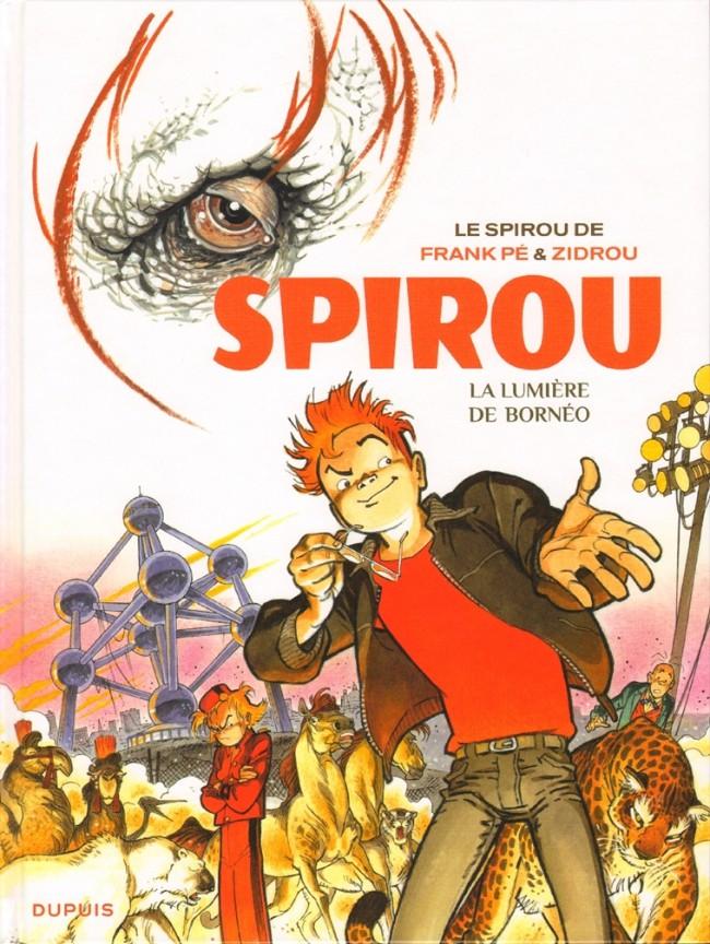 Couverture de Spirou et Fantasio (Une aventure de.../Le Spirou de...) -10- La Lumière de Bornéo