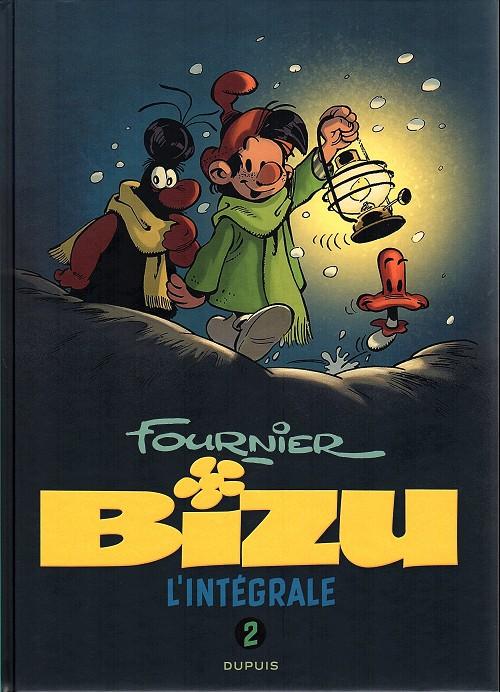 Couverture de Bizu -INT2- L'intégrale 2 1986-1988