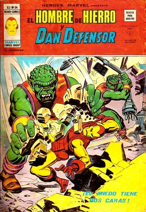 Couverture de Héroes Marvel (Vol.2) -34- iEl miedo tiene 2 caras!