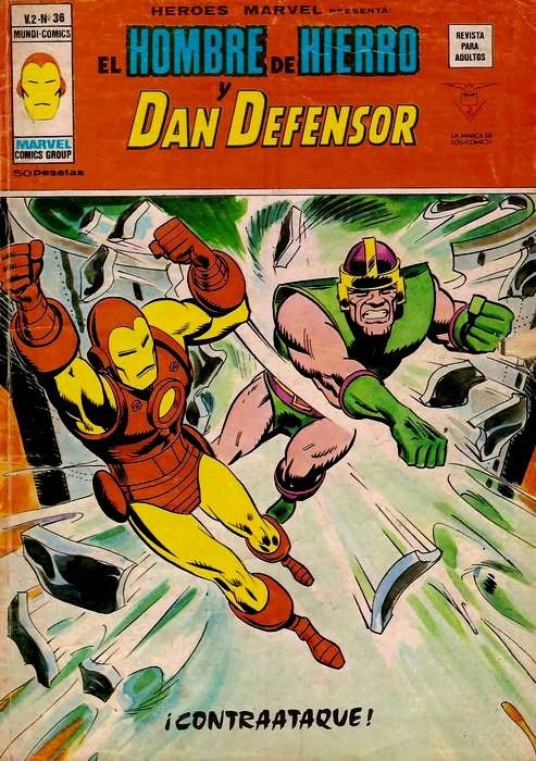 Couverture de Héroes Marvel (Vol.2) -36- iContraataque!