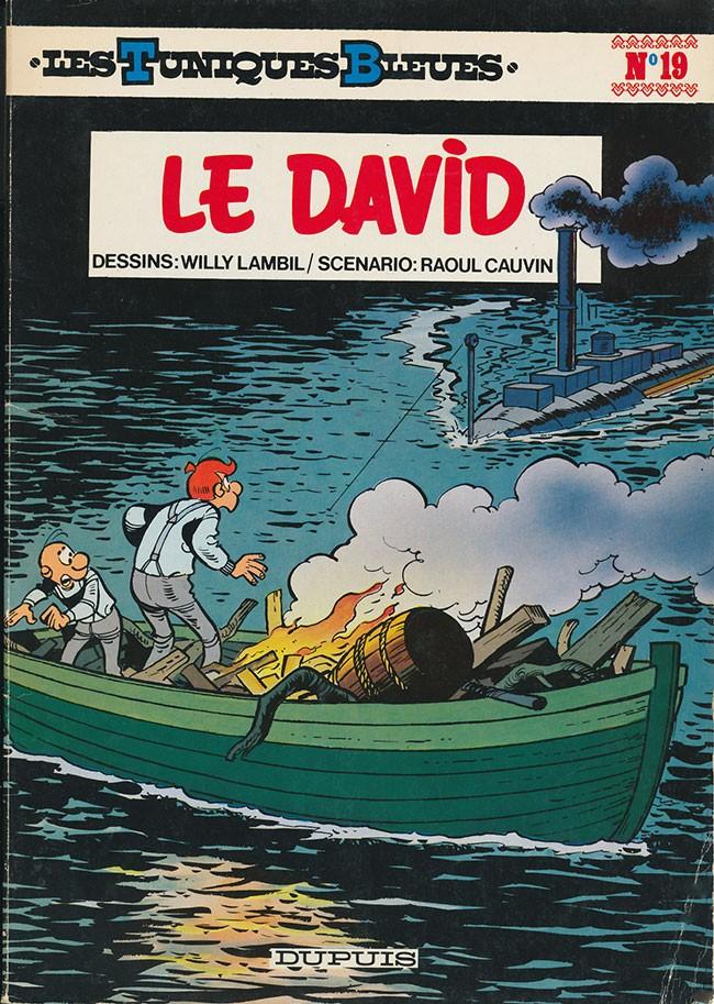 Couverture de Les tuniques Bleues -19- Le David