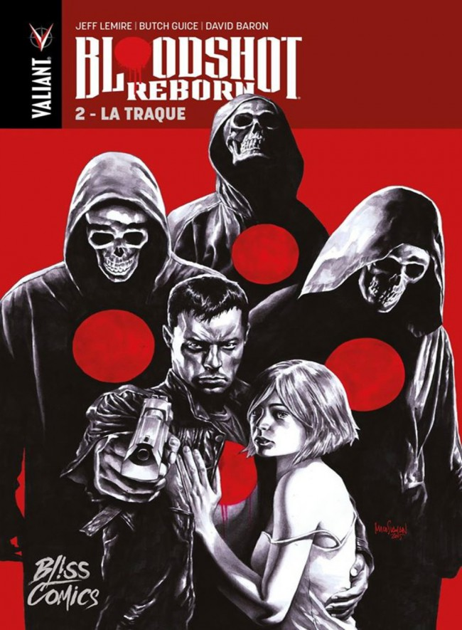 Couverture de Bloodshot Reborn -2- La Traque