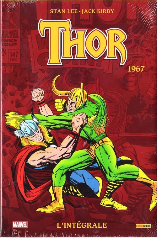 Couverture de Thor (L'intégrale) -9- Intégrale 1967