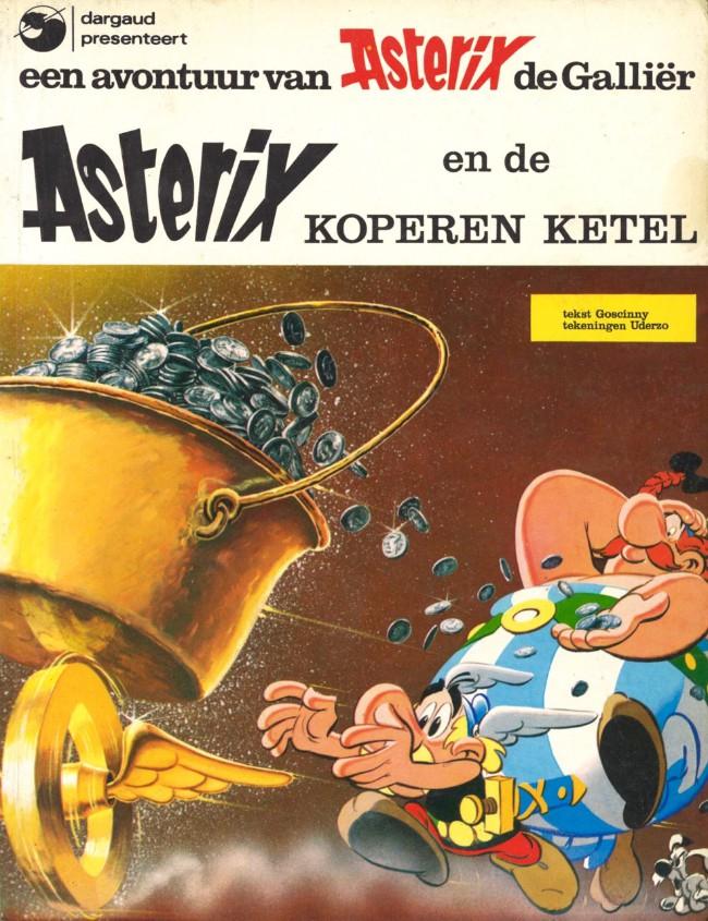 Couverture de Astérix (en néerlandais) -8- Asterix en de koperen ketel