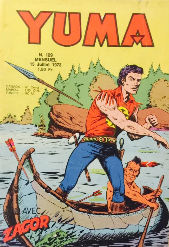 Couverture de Yuma (1re série) -129- ZAGOR : 55e épisode