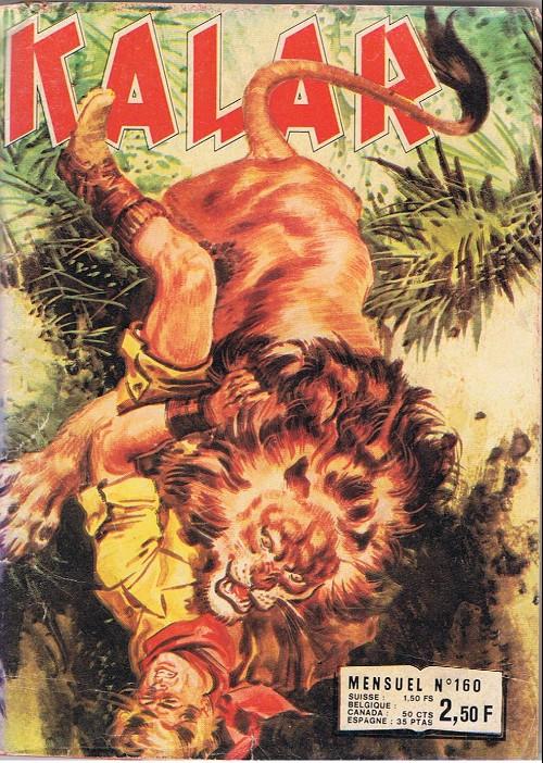 Couverture de Kalar -160- Le gorille géant