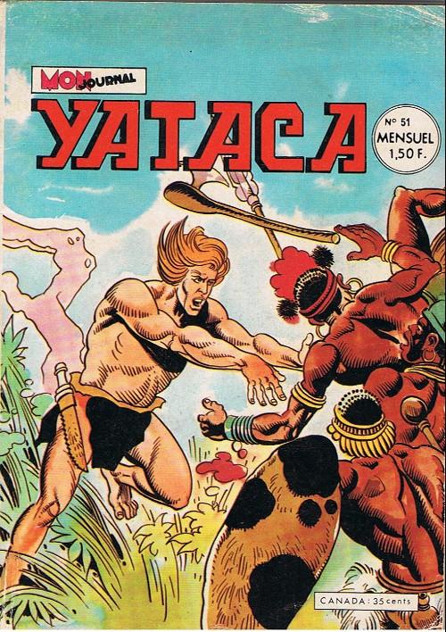 Couverture de Yataca (Fils-du-Soleil) -51- L'œil du dieu-croco