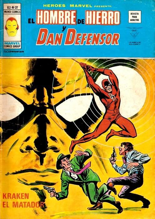 Couverture de Héroes Marvel (Vol.2) -37- Kraken el matador
