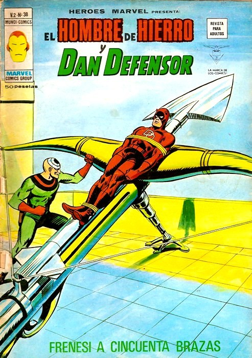Couverture de Héroes Marvel (Vol.2) -38- Frenesí a cincuenta brazas