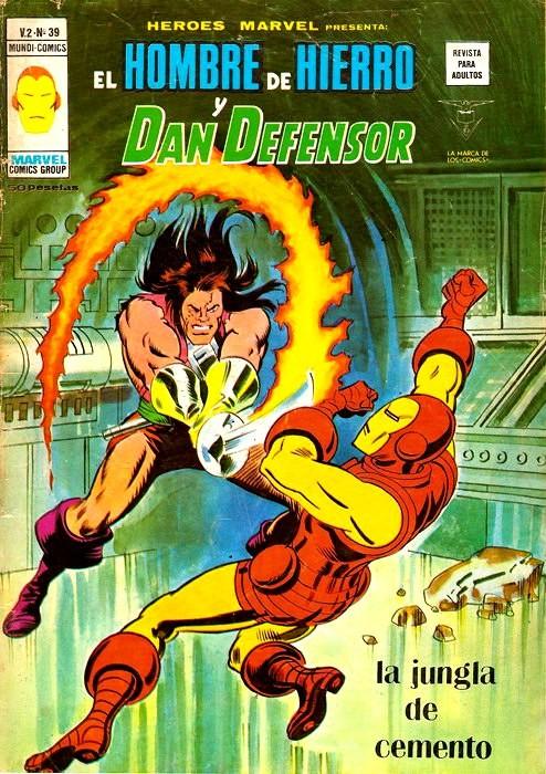 Couverture de Héroes Marvel (Vol.2) -39- La jungla de cemento