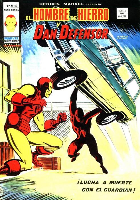 Couverture de Héroes Marvel (Vol.2) -40- ¡Lucha a muerte con el Guardián!