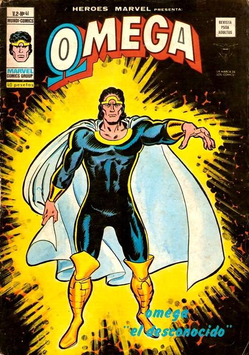 Couverture de Héroes Marvel (Vol.2) -41- Omega el desconocido