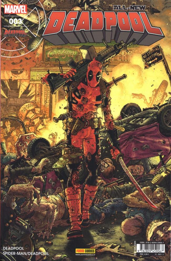 Couverture de All-New Deadpool -3- La Fin d'une erreur