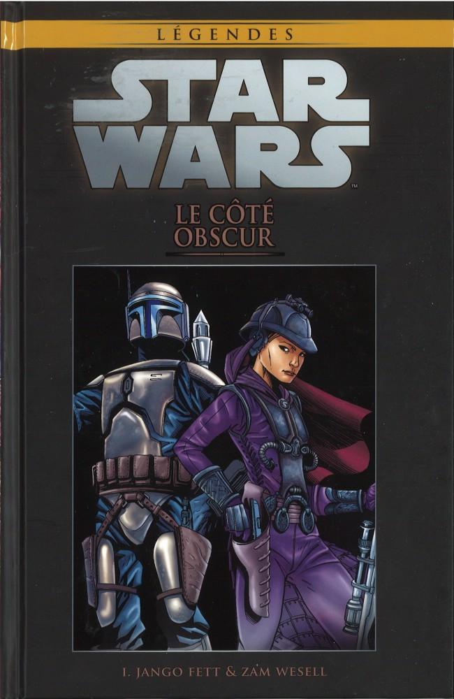 Couverture de Star Wars - Légendes - La Collection (Hachette) -23I- Le Côté Obscur - I. Jango Fett & Zam Wesell