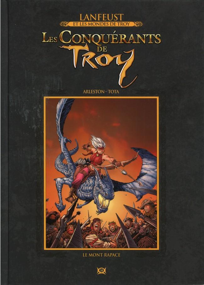 Couverture de Lanfeust et les mondes de Troy - La collection (Hachette) -34- Les Conquérants de Troy - Le Mont Rapace