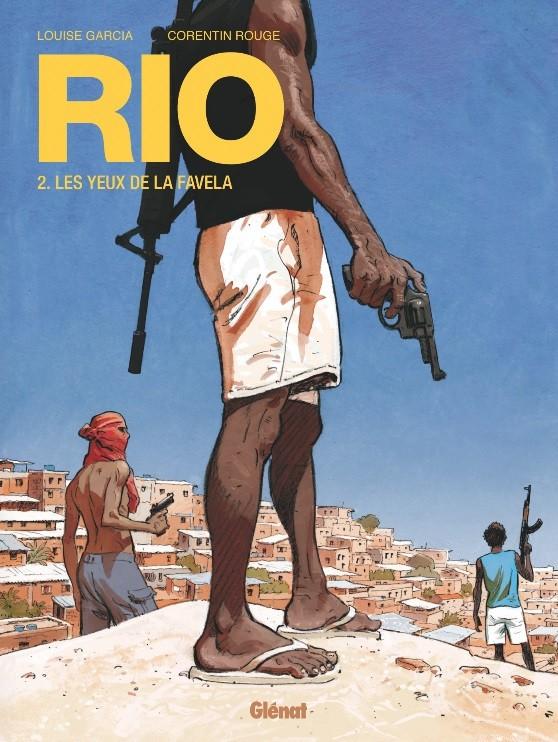Couverture de Rio (Rouge/Garcia) -2- Les Yeux de la favela