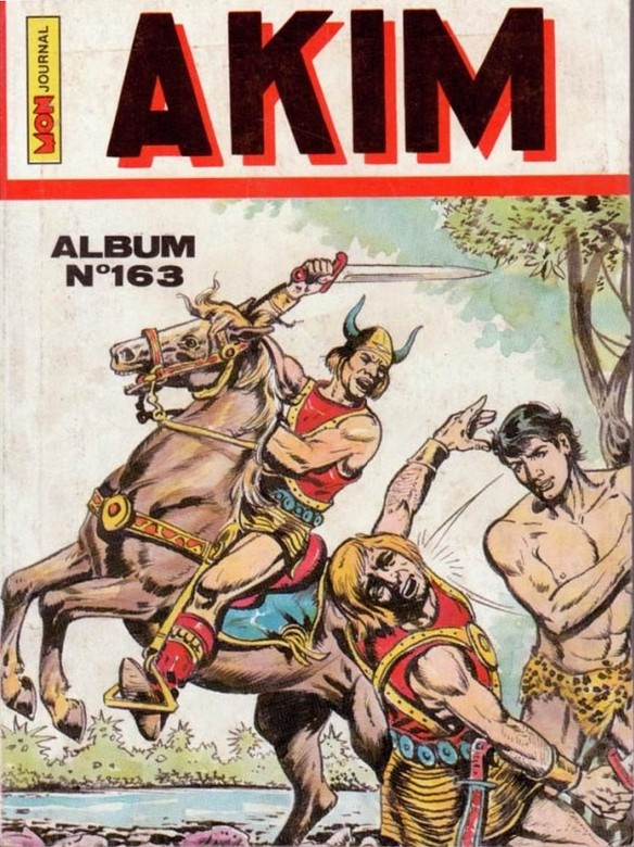 Couverture de Akim (1re série) -Rec163- Album N°163 (du n°625 au n°628)
