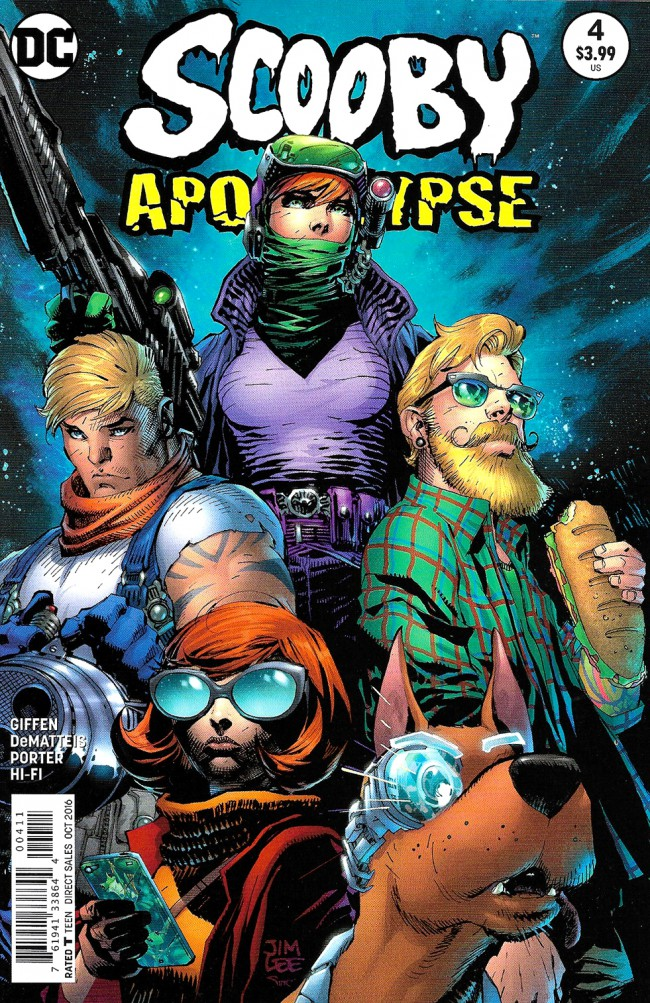 Couverture de Scooby Apocalypse (2016) -4- Fur And Fangs!