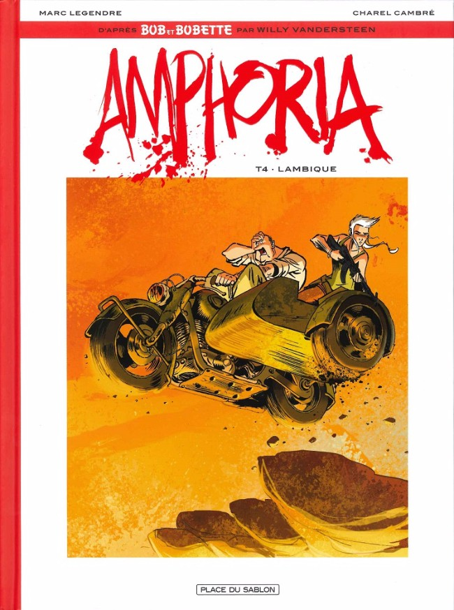 Couverture de Bob et Bobette : Amphoria -4- Lambique