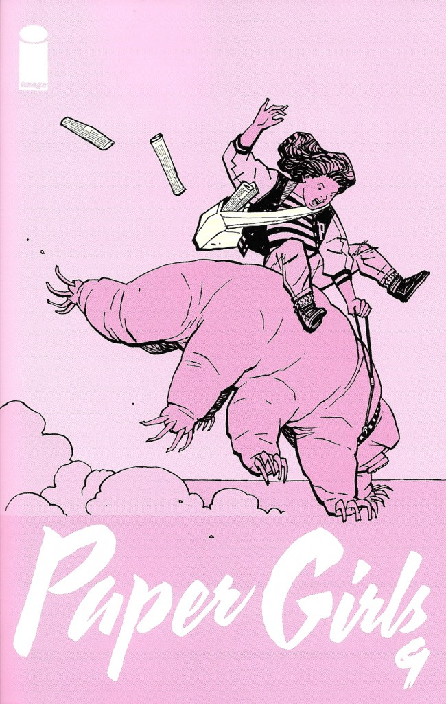 Couverture de Paper Girls (Image comics - 2015) -9- Paper Girls