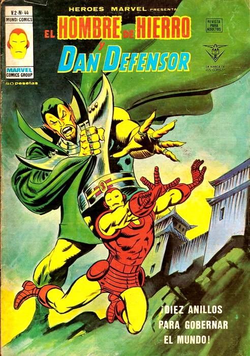 Couverture de Héroes Marvel (Vol.2) -44- Díez anillos para gobernar el mundo