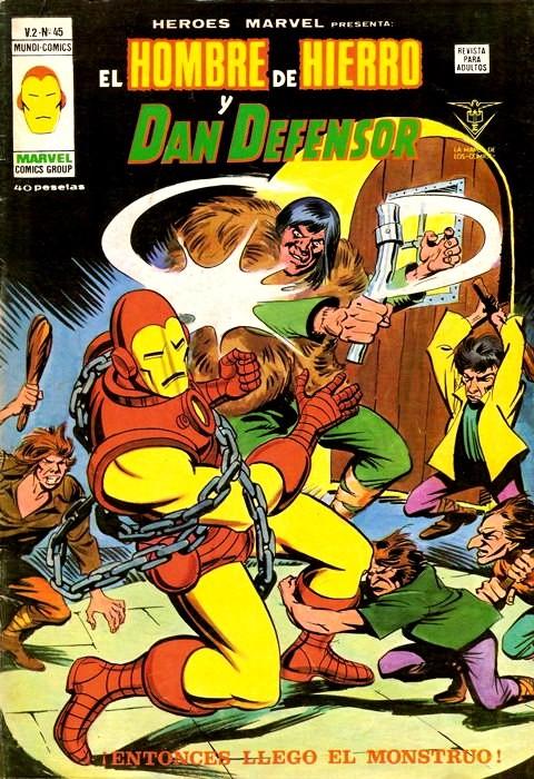 Couverture de Héroes Marvel (Vol.2) -45- iEntonces llegó el monstruo!