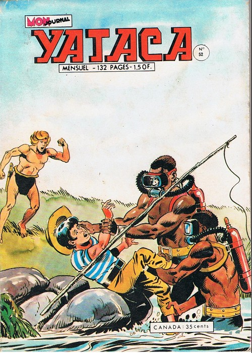 Couverture de Yataca (Fils-du-Soleil) -52- Les moyens sauvages