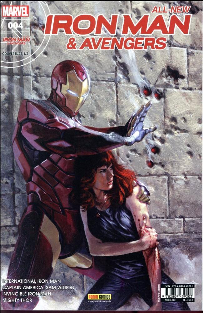 Couverture de All-New Iron Man & Avengers -41/2- En quête de vérité