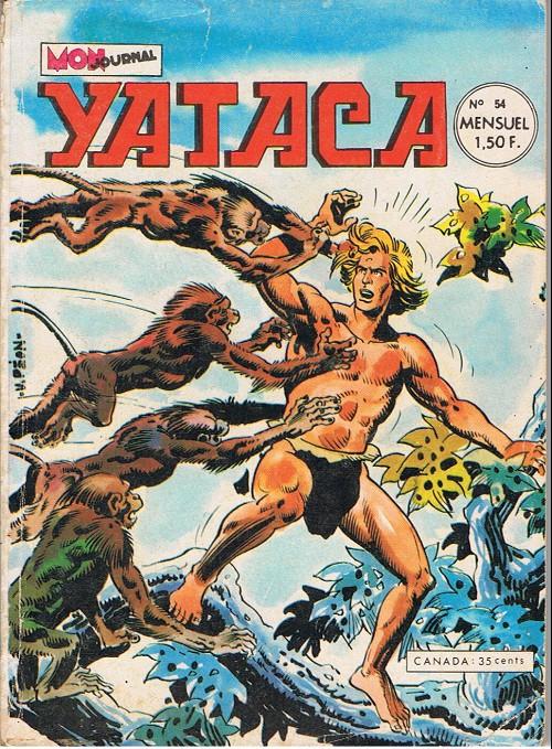 Couverture de Yataca (Fils-du-Soleil) -54- Le diabolique Balka