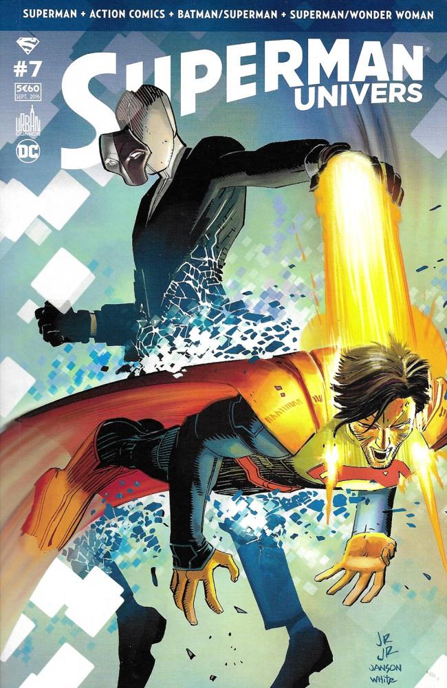 Couverture de Superman Univers -7- Numéro 7