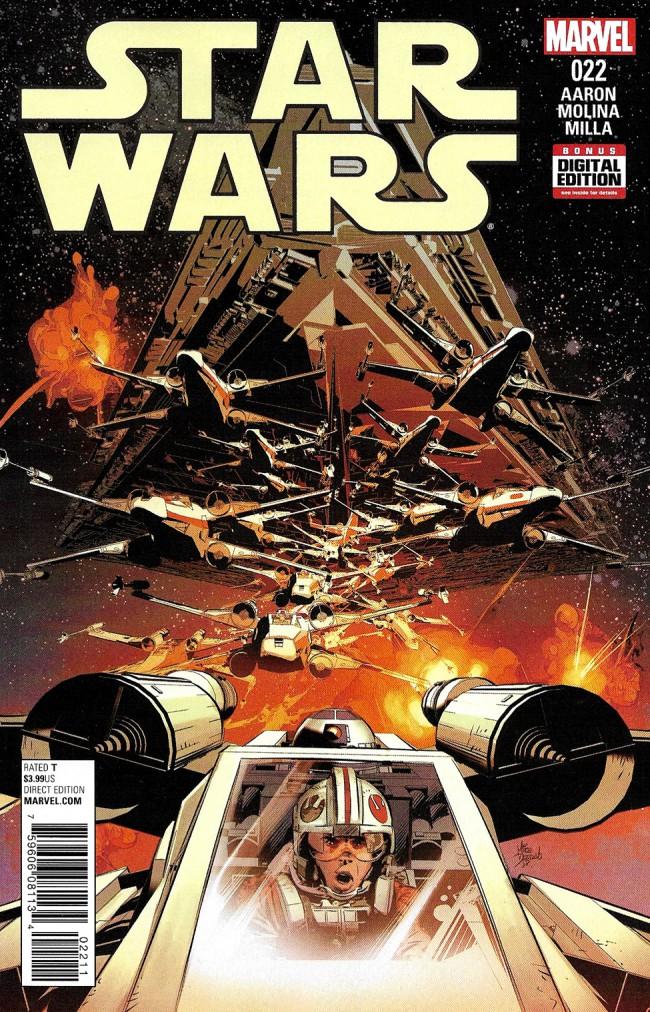 Couverture de Star Wars Vol.2 (Marvel comics - 2015) -22- Book V, Part II : The Last Flight Of The Harbinger