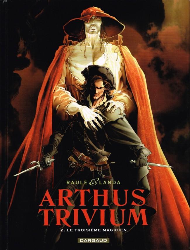 Couverture de Arthus Trivium -2- Le Troisième Magicien