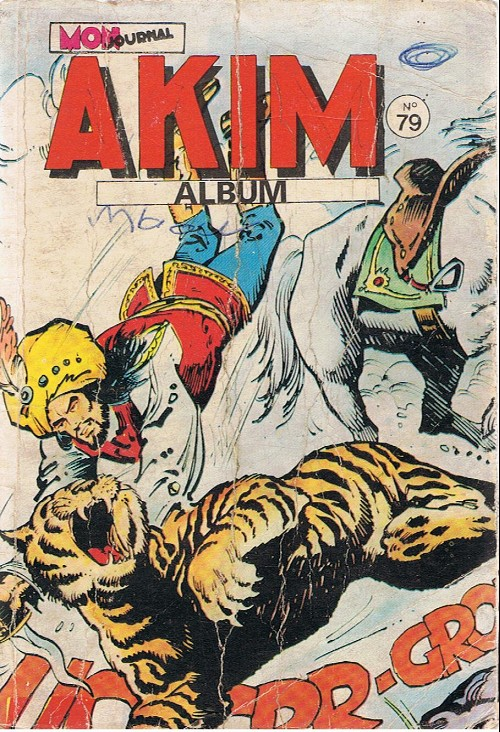 Couverture de Akim (1re série) -Rec079- Album N°79 (du n°437 au n°440)